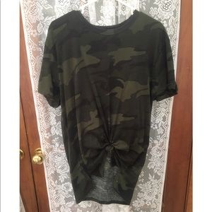 Hollister Camo Top